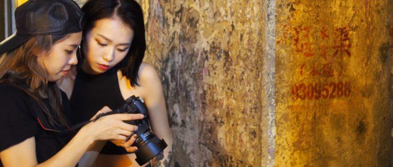 香港 サロン モデル撮影